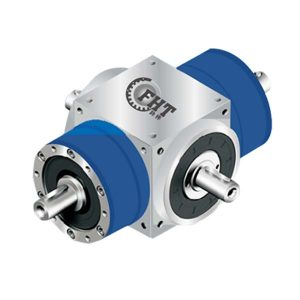 AT-LM(RM) Double Output Shaft Opposite Direction Steering Gearbox