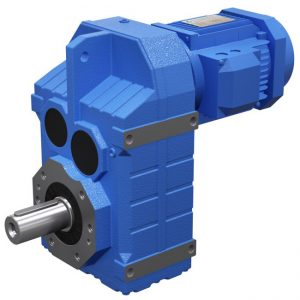 F series-flange installation rectangular axis medium type hypoid gear motor