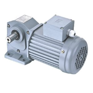 H series-foot installation rectangular axis medium type hypoid gear motor
