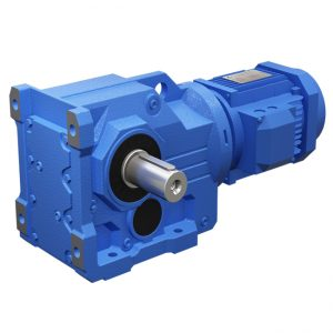 K series helical gear motor
