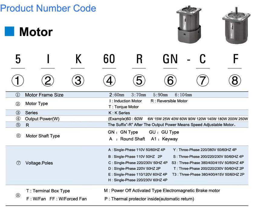 Motor de engranajes de freno Micro AC12