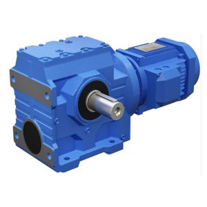 S series helical gear motor
