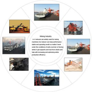 Speed reducer in mining industry
