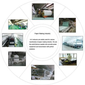Speed reducer in paper making industry